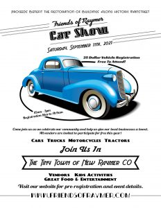 Friends of Raymer Car Show @ Friends of Raymer Car Show   Raymer   Colorado   United States