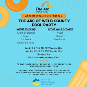 The Arc of Weld County Pool Party @ Discovery Pool   Greeley   Colorado   United States